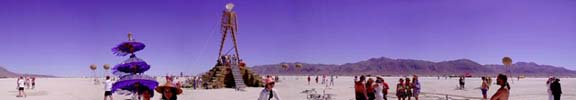 Burning Man Panoramas